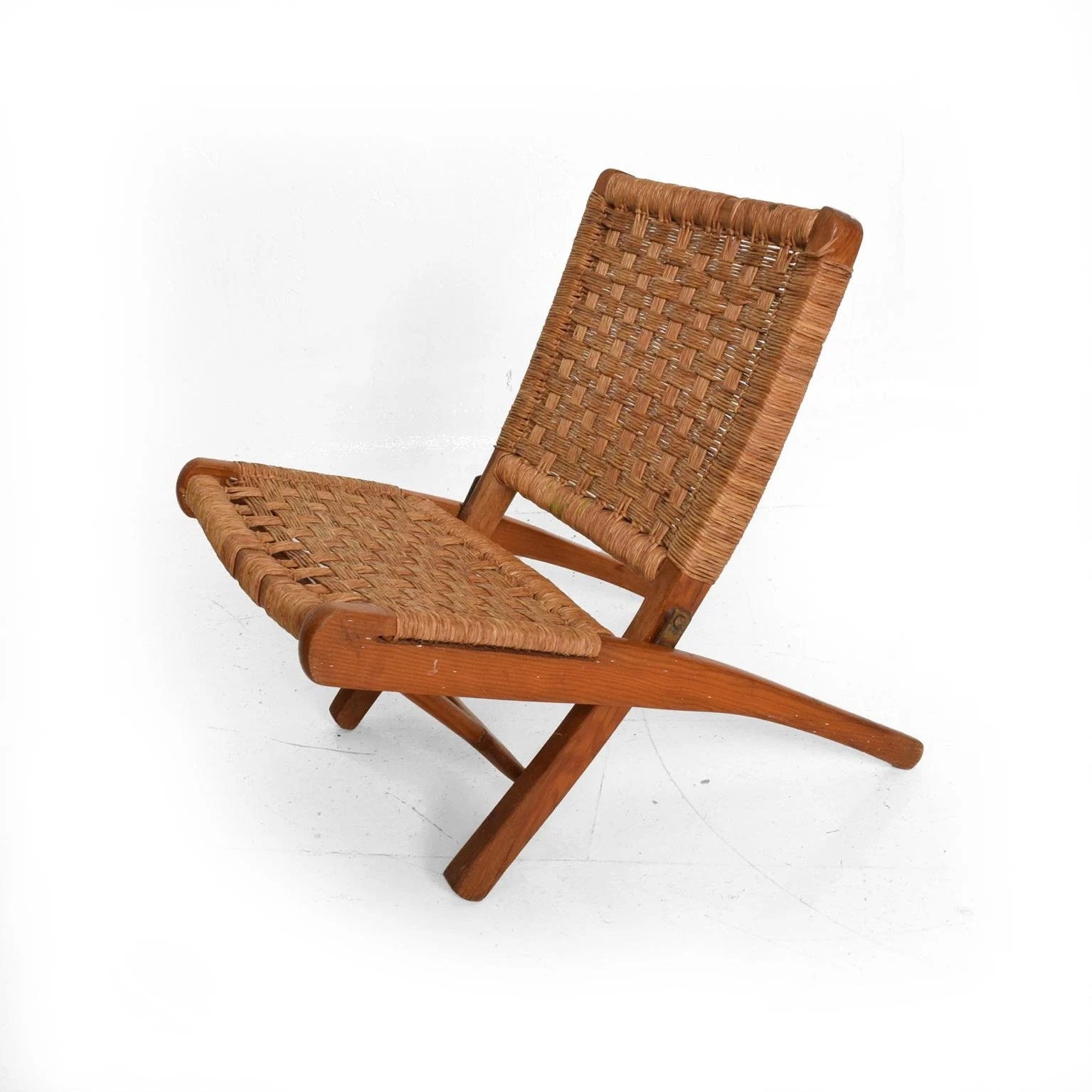 Mexican Rocking Chair Mexican Modernist Small Folding Chair After Clara Porset