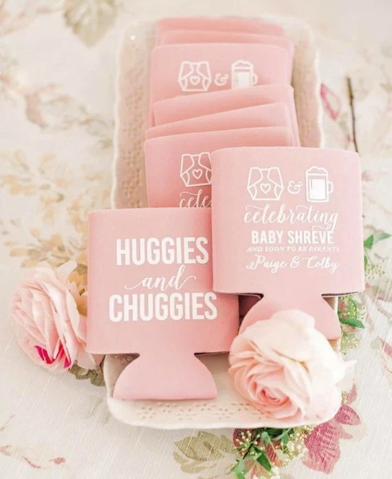 Baby Shower Favors Huggies and Chuggies Baby Shower Gender Etsy