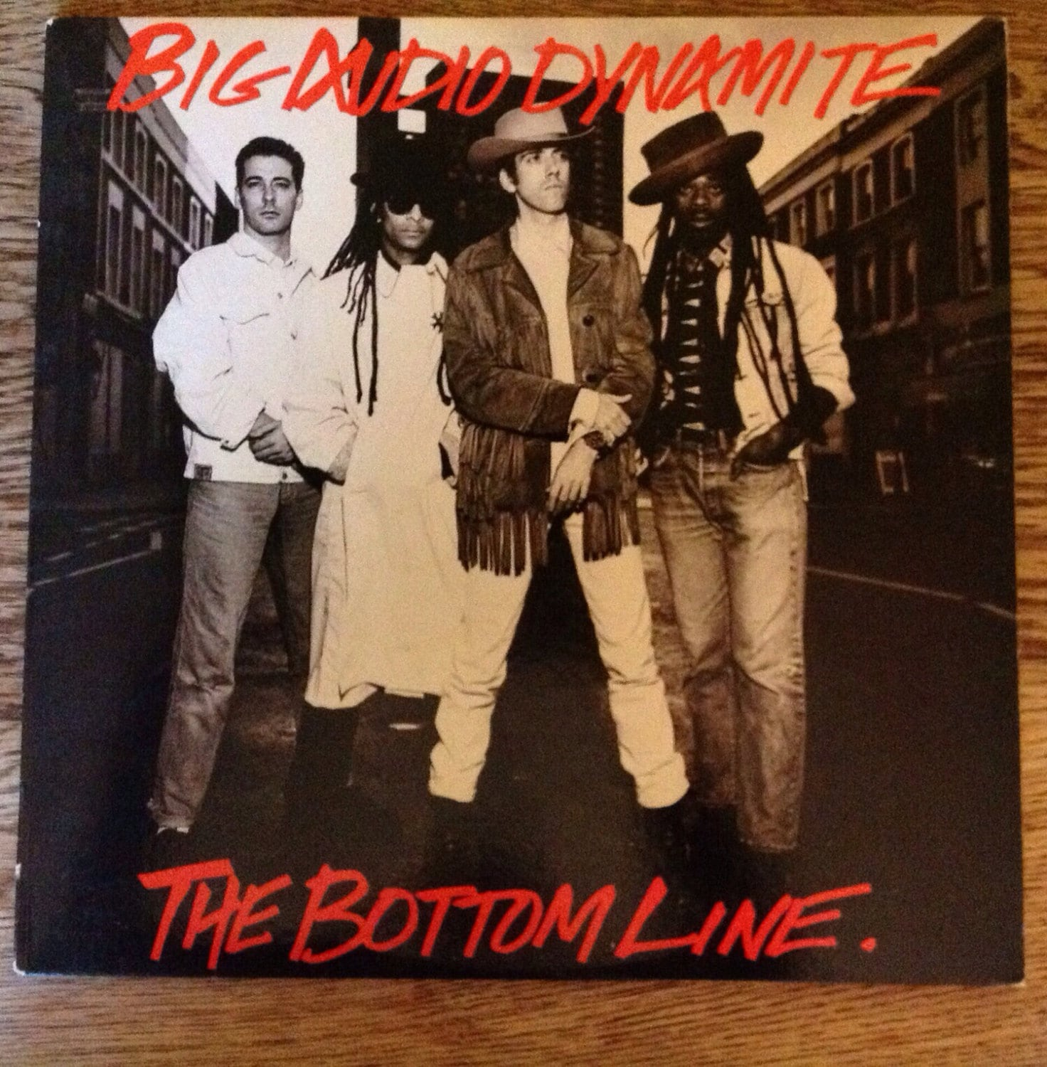 Vintage Bad Copy Big Audio Dynamite The Bottom Line12