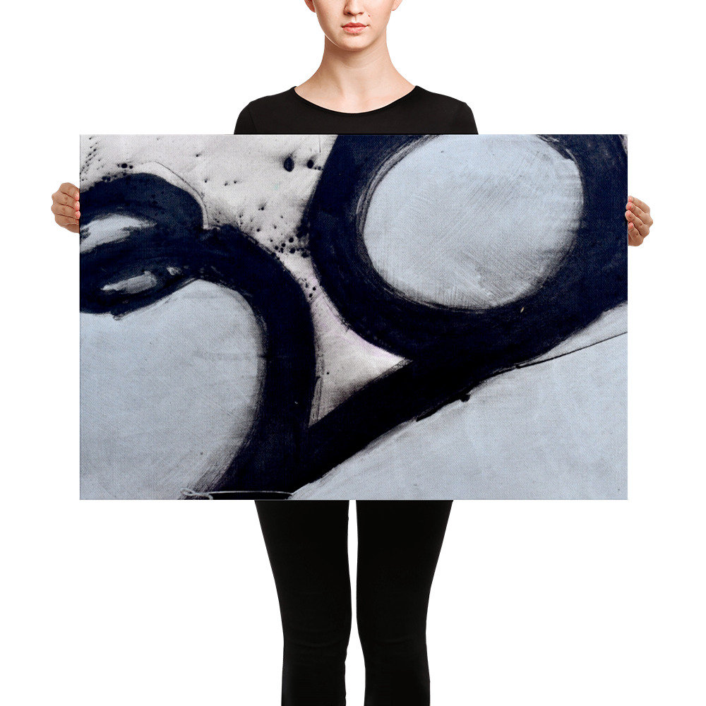 Abstract Art Prints On Canvas Parts Dept Abstract Canvas A Canvas Art Print Abstract Art