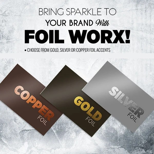Gold foil business cards / thick business cards / gold Etsy