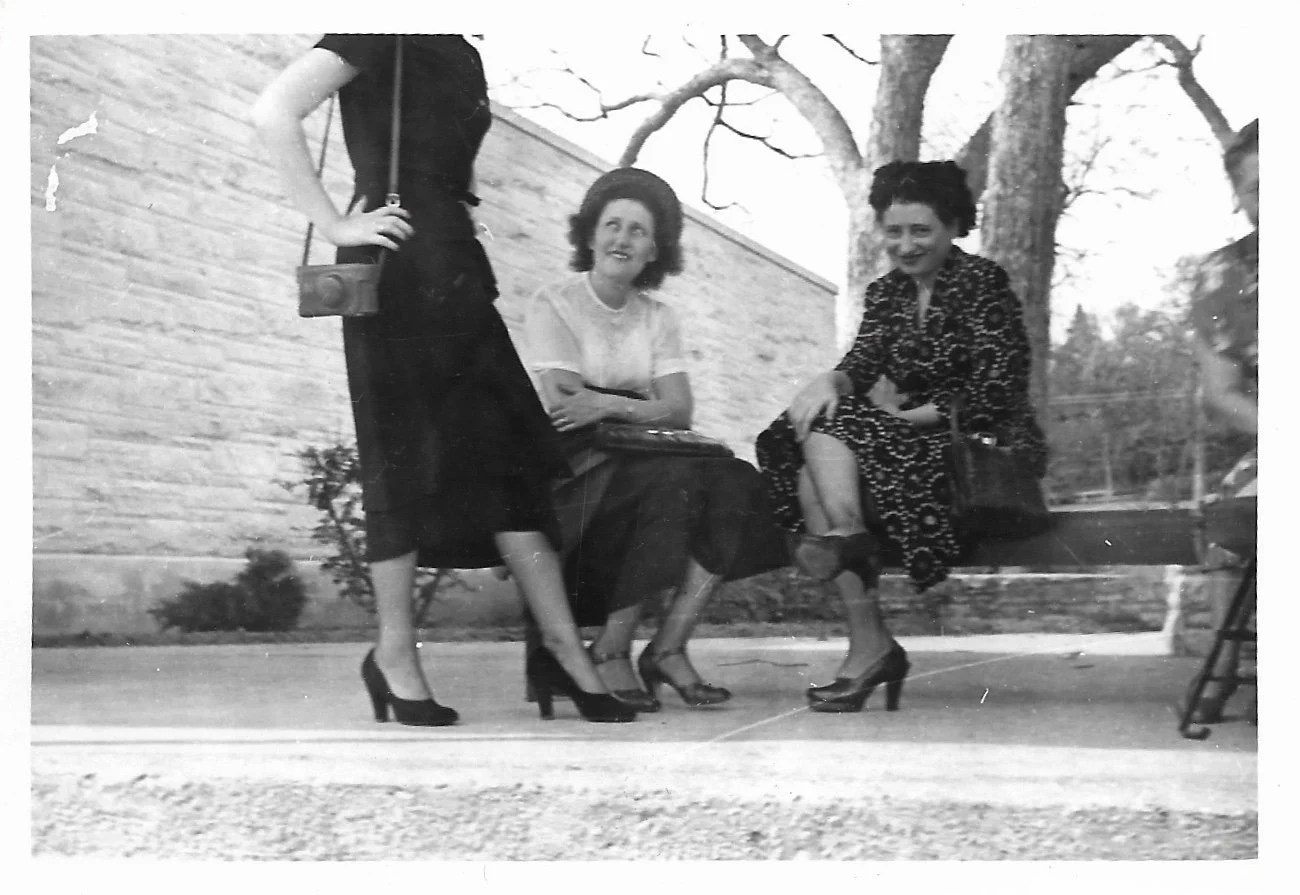 Vintage Bad Copy Nice Legs Bad Crop Chops Off Woman S Head Black White Vintage Snapshot Photo Out Of Frame