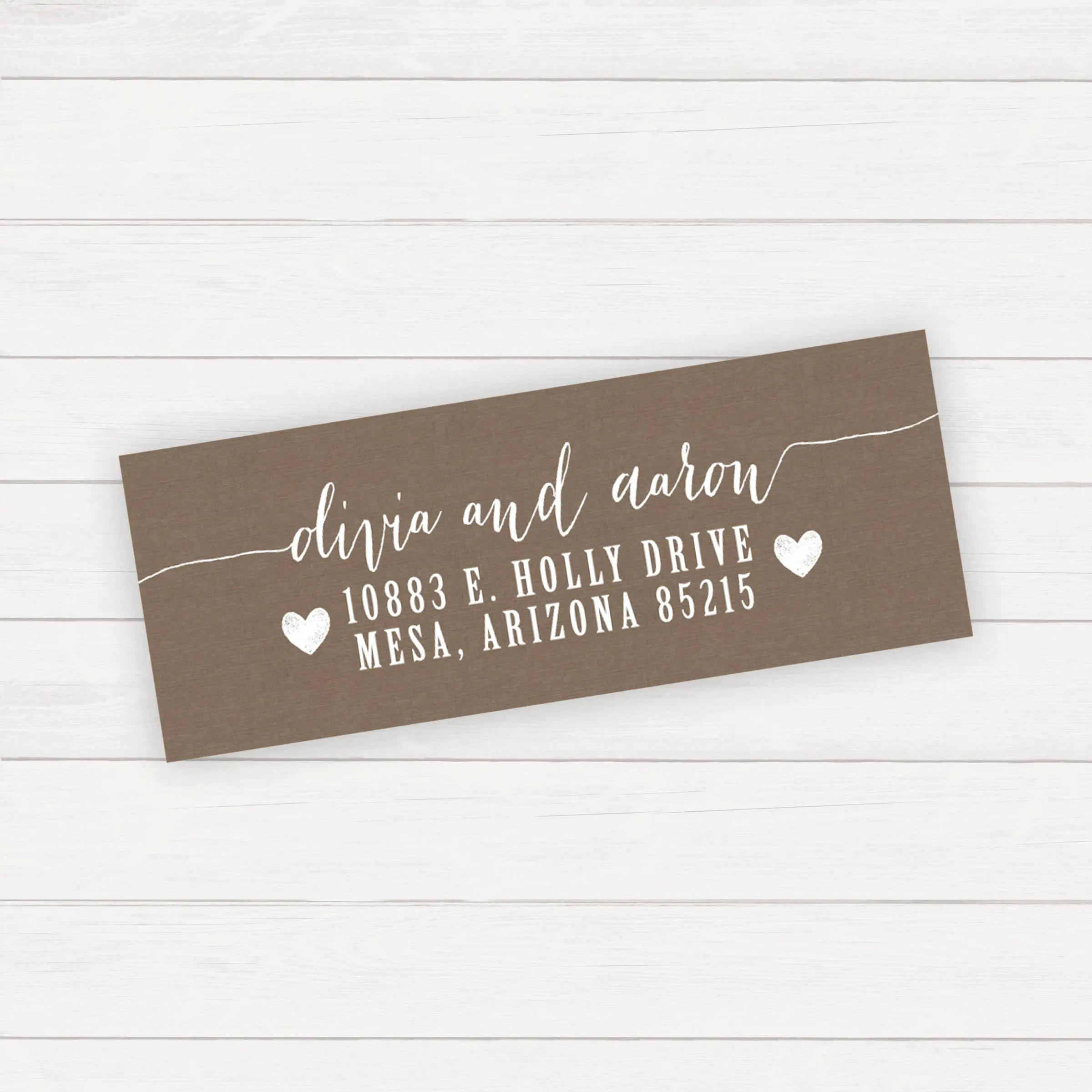 Return Address Label Printable Address Printable Return Etsy