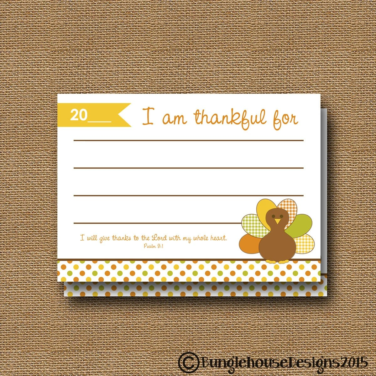 Printable Gratitude Cards Thanksgiving Thankful List I Am Etsy