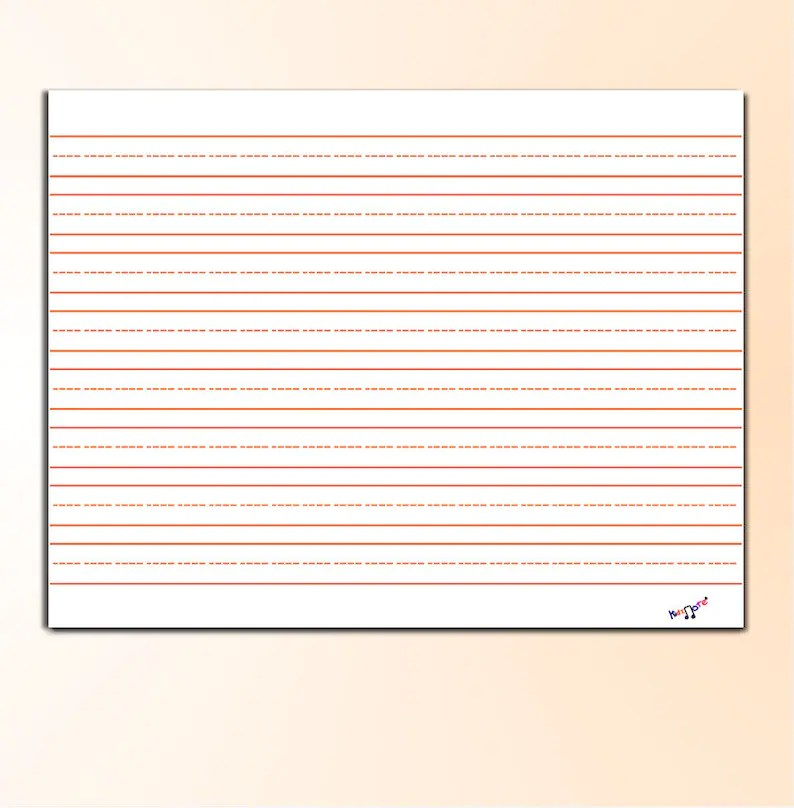 landscape writing paper lined primary writing paper landscape with