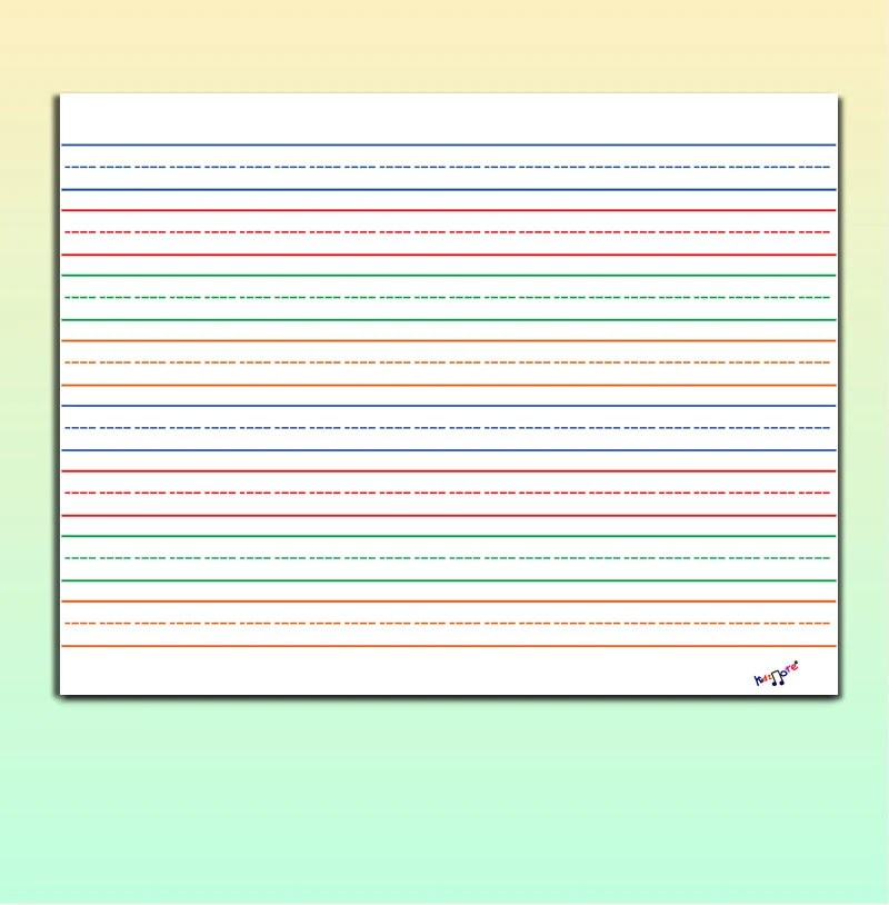 Printable Lined Paper Large Lined Paper 3 Lined Paper Etsy