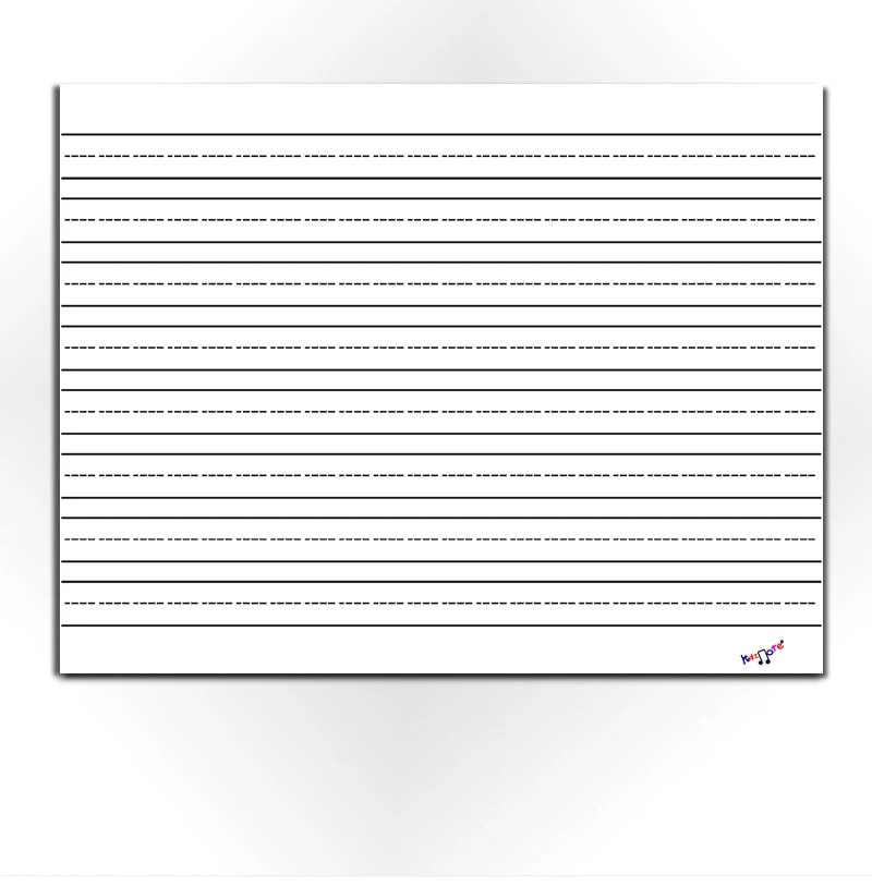 Lined Paper for Kids Blank Lined Paper Preschool Etsy