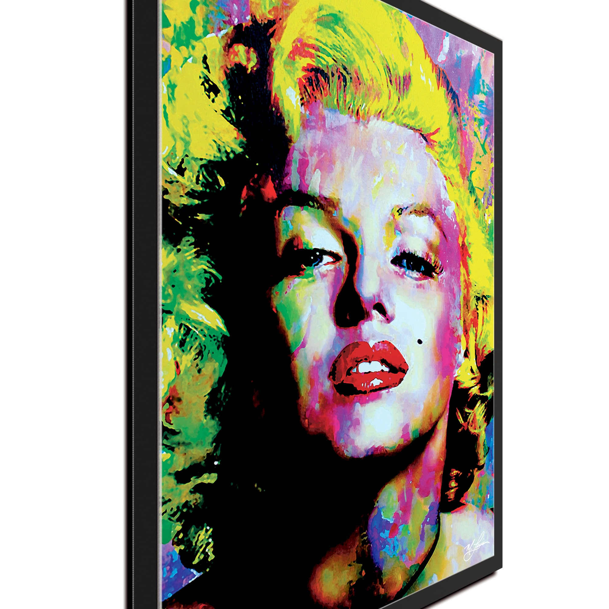 Art Marilyn Pop Art Marilyn Monroe Insatiable By Artist Mark Lewis Sexy Marilyn Monroe Painting Limited Edition Giclee Print On Metal Or Acrylic