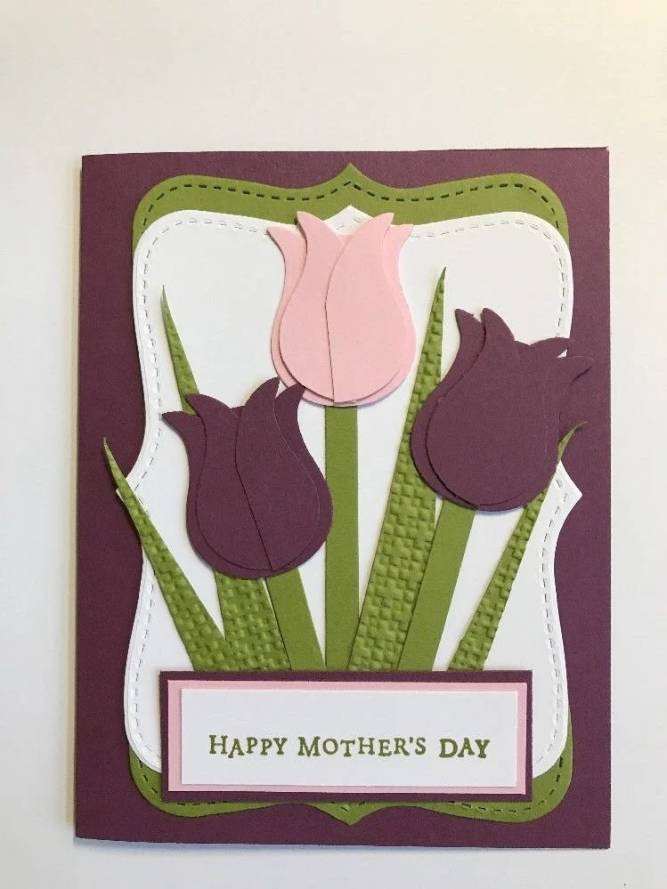 Stampin Up Karten Für Männer Stampin Up Mother S Day Lovely Tulips