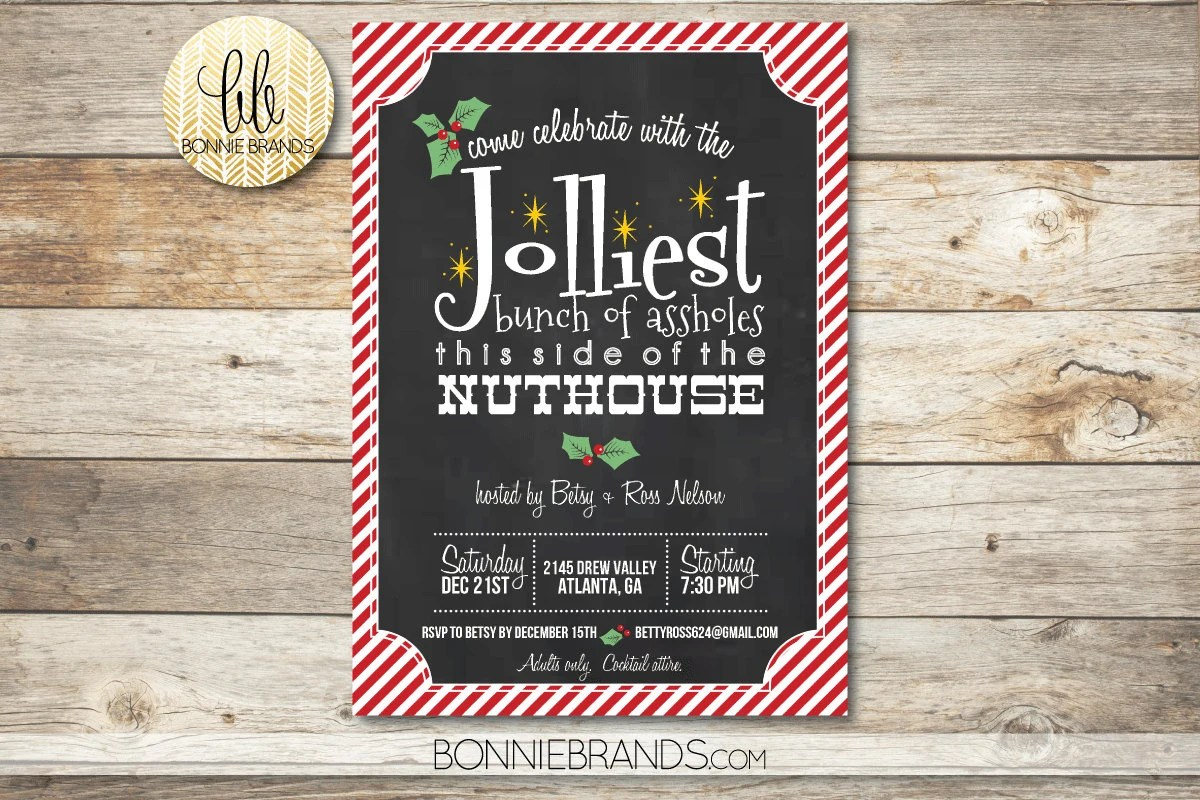 Holiday Party Invitation   Christmas Vacation Clark Griswold Etsy