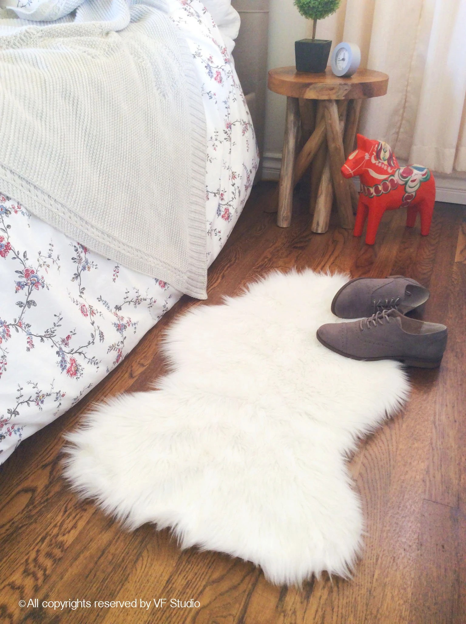 Sha Rug White Faux Sheepskin Shag Rug Decorative Nursery Rug Cozy Fur Bedroom Rug Handmade Faux Sheepskin All Sizes
