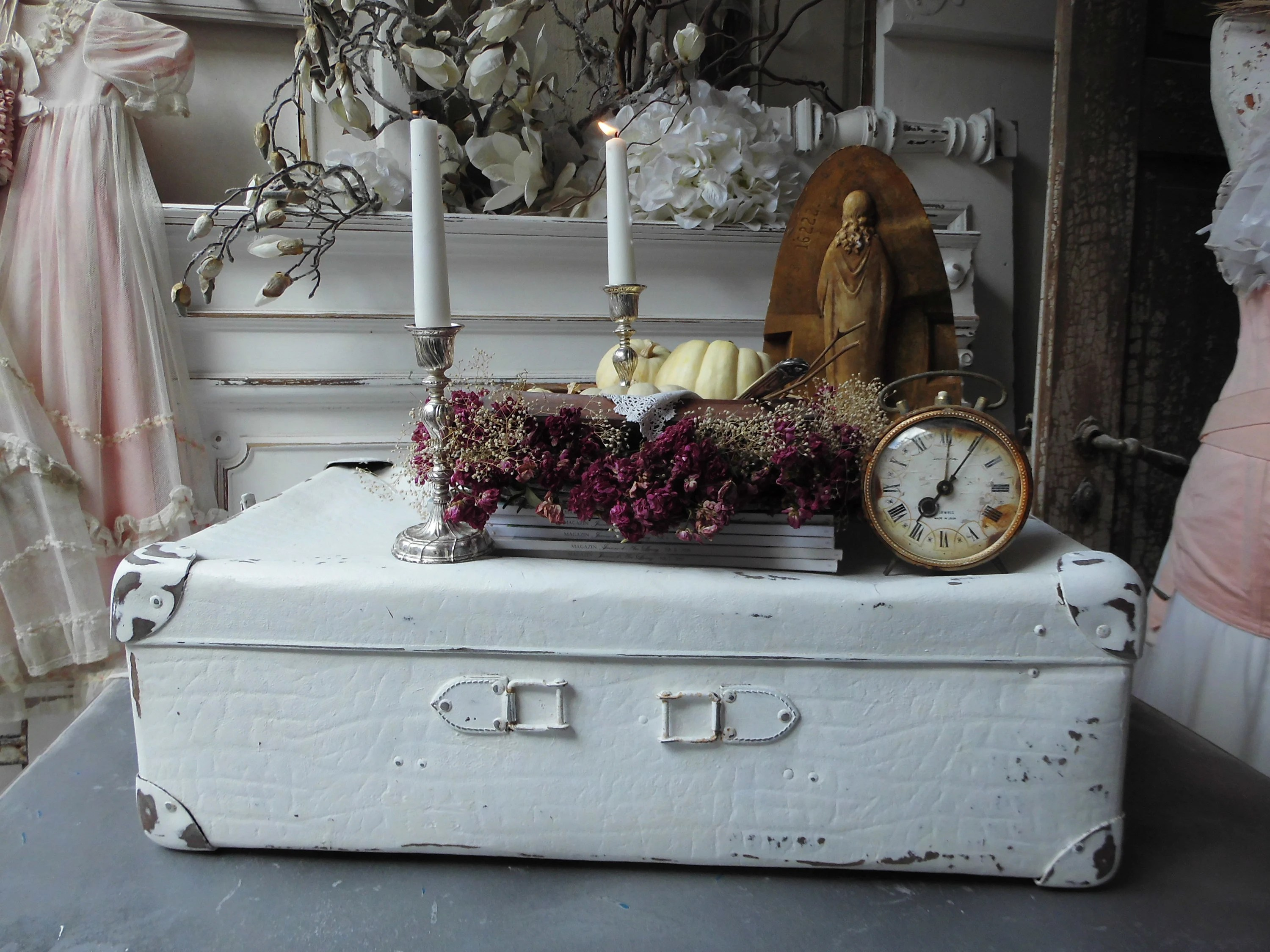 Shabby Look Suitcase Vintage Shabby Shabby Style Shabby Look Shabby Country House Brocante Cottage Travel Case Wedding Picture Case