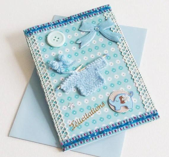 Baby boy card congratulations newborn baby pregnancy Etsy
