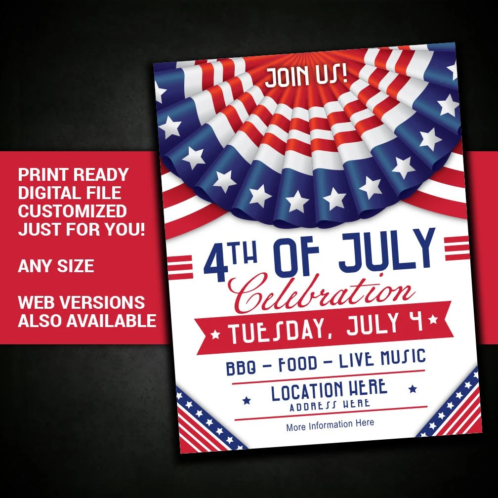 4th of JULY Independence Day July 4th picnic summer bbq Etsy