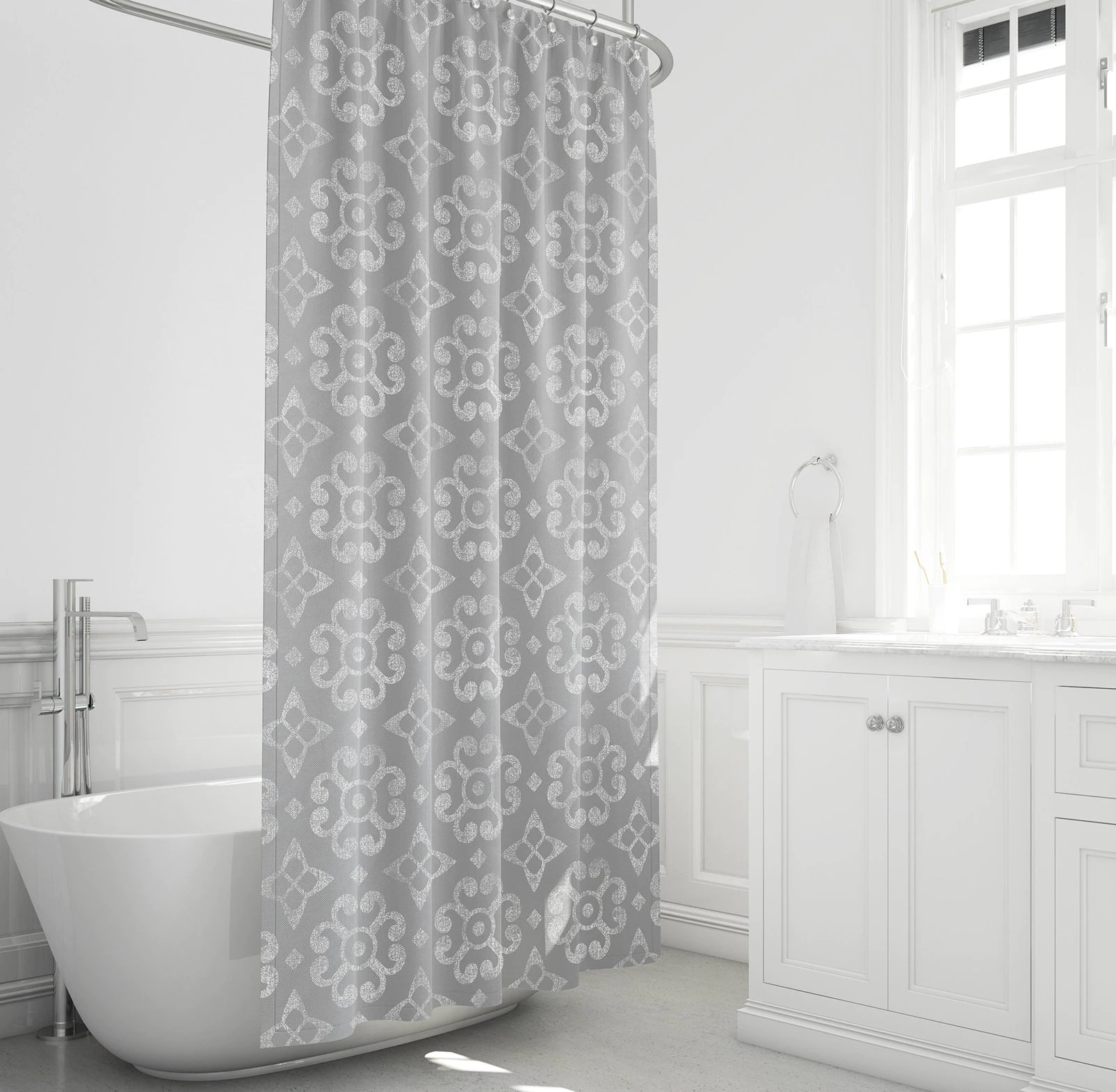 Cheap Rustic Shower Curtains Farmhouse Shower Curtain Gray And White Bathroom Decor