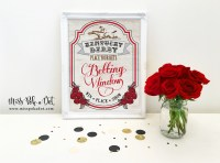 Kentucky Derby Party Sign Printable Betting Window Horse ...