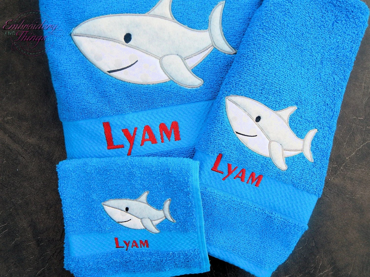 Kids Bath Towels Bath Towels Best Bath Towels For Kids Personalized Kids Bath Towels Dolphin Towel Shark Towel Monogrammed Towels Personalized Gifts