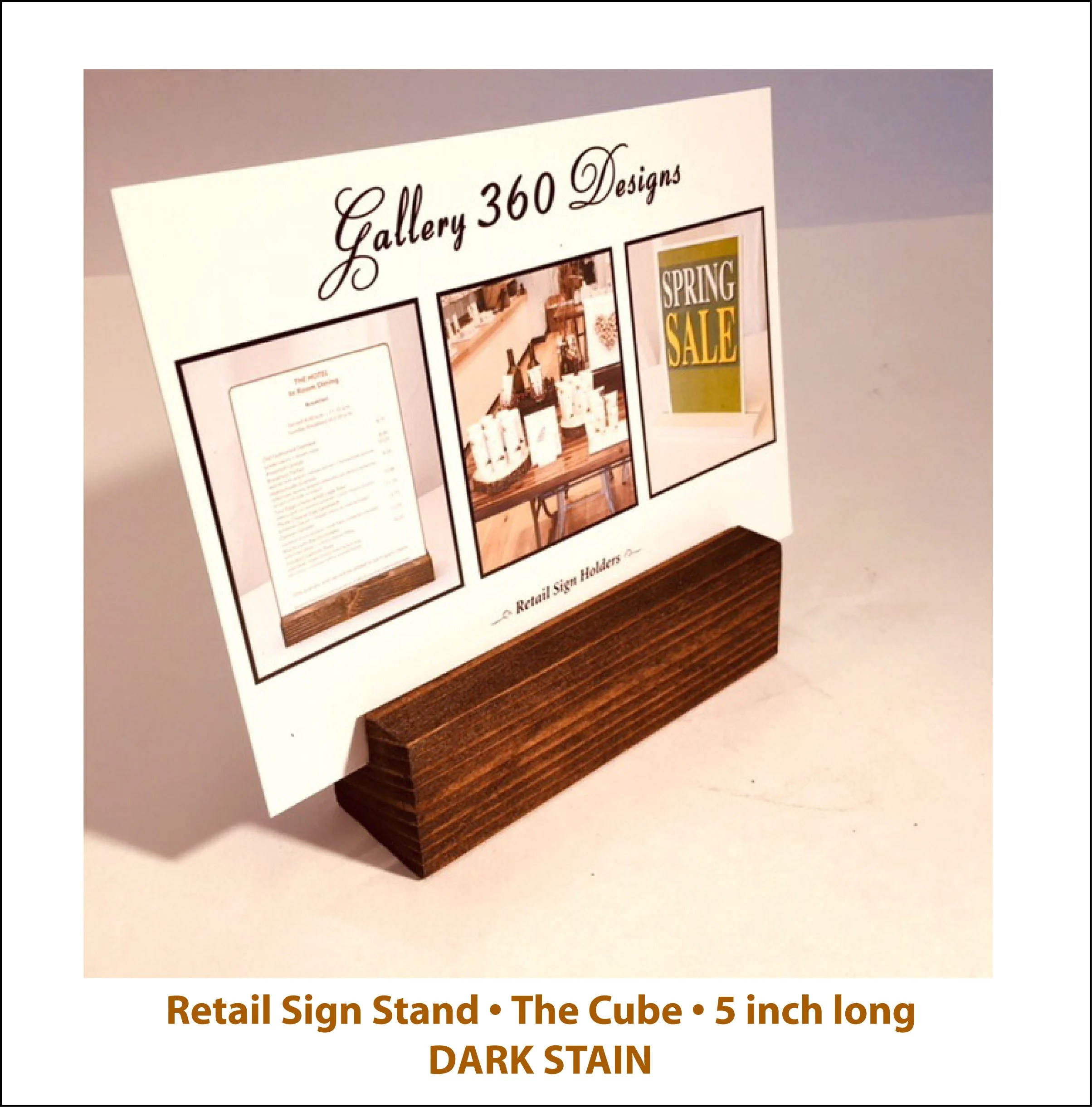 Countertop Signs Sign Stand Retail Countertop Card Holder For 4x6 And 5x7 Signs Set Of 50 Free Shipping