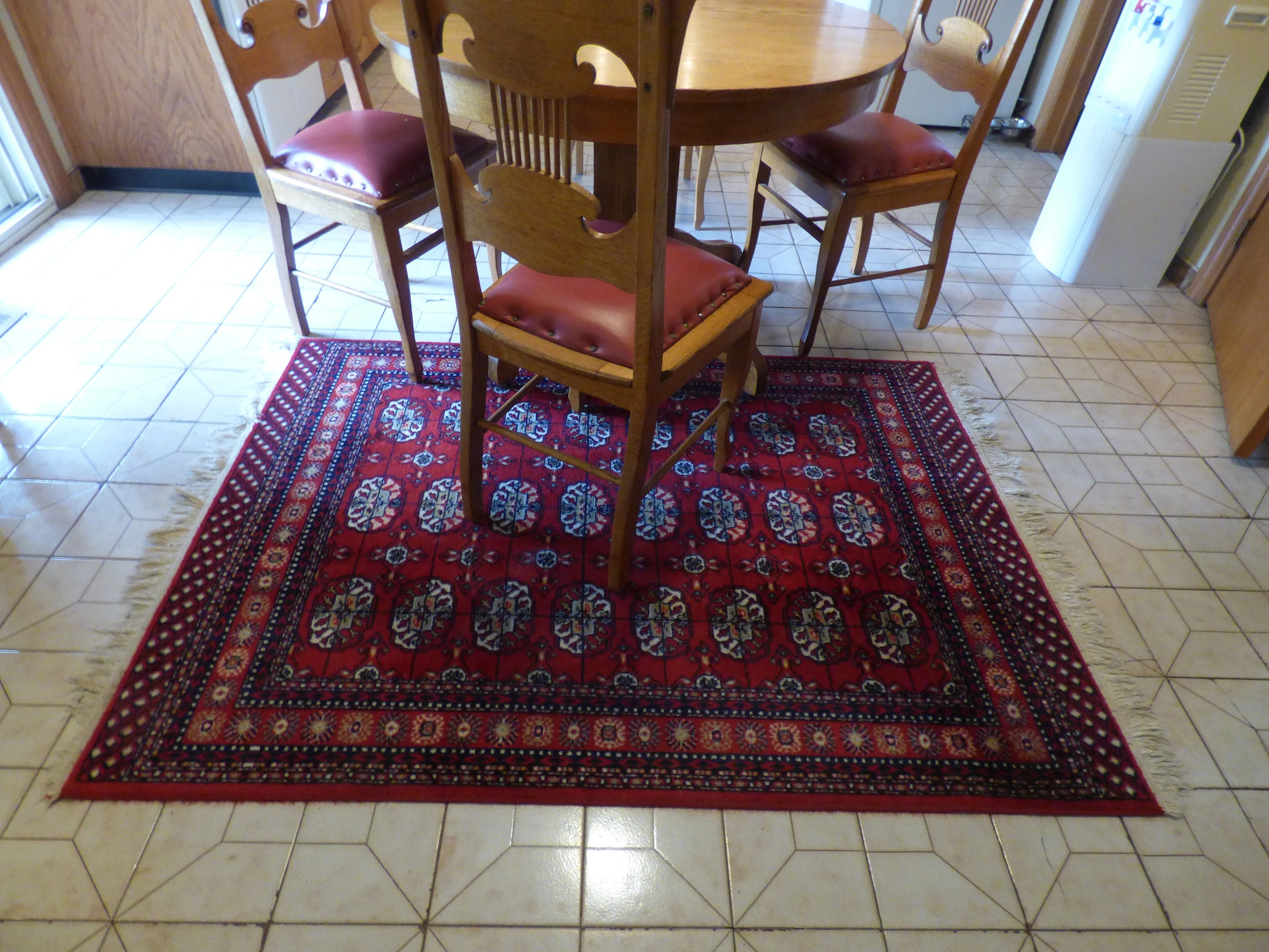 Kamar Vintage Vintage Kamar 100 Worsted Virgin Wool Area Rug Carpet Belgium 5 10