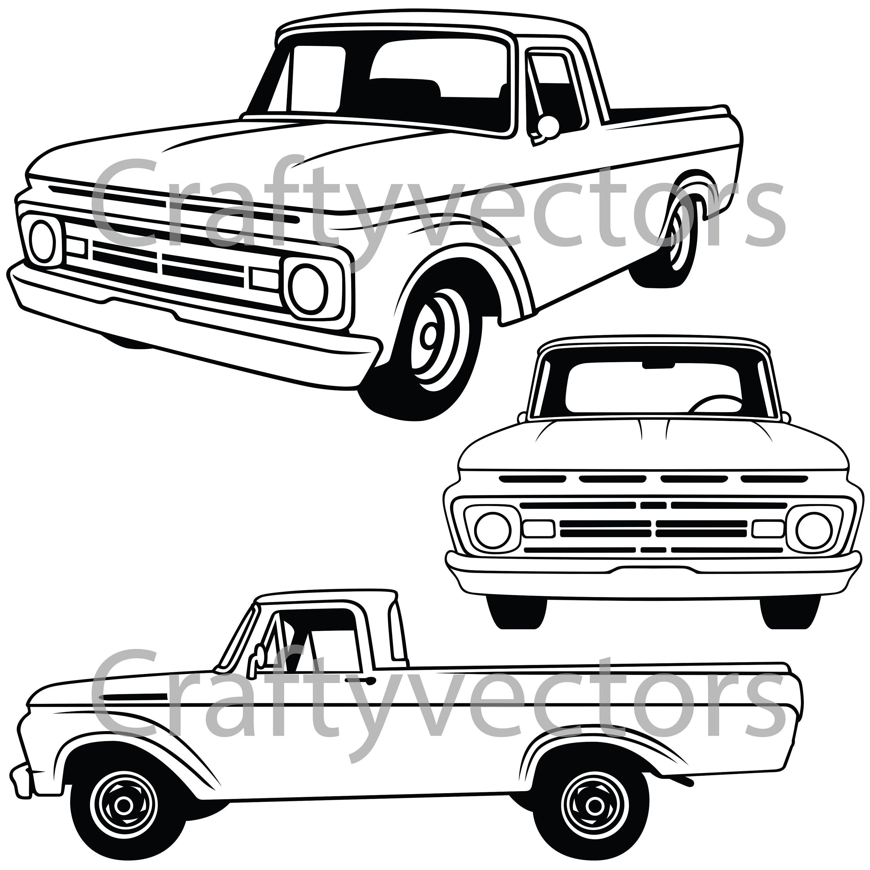 1962 ford f100 pickup truck