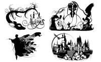 Prints of Will Pigg's Harry Potter Silhouette Paper cuts ...