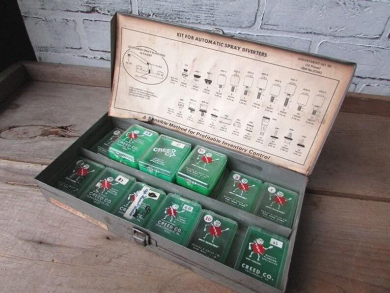 Industrial Metal Box Vintage Fuse Boxes Small Storage Etsy