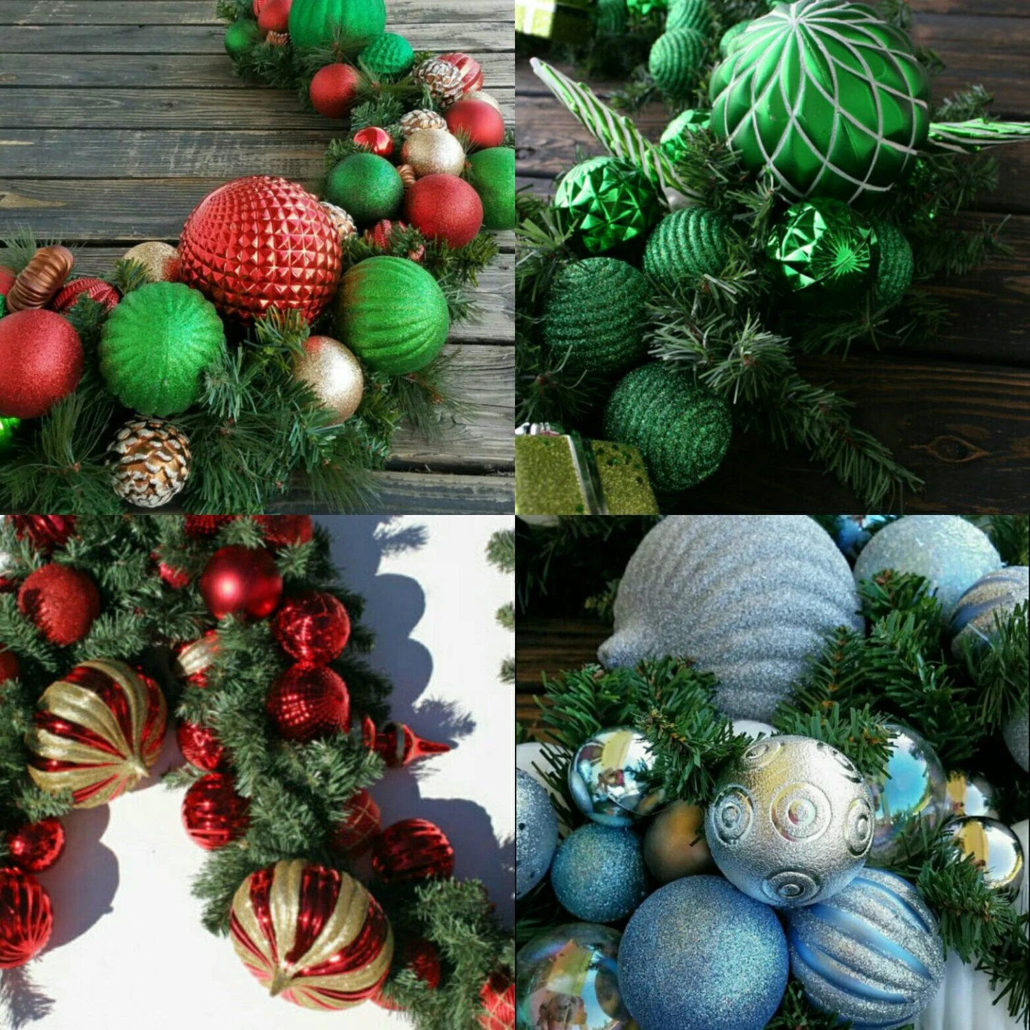 6 Ft Fireplace Mantel Christmas Garland Holiday Garland Mantel Garland Fireplace