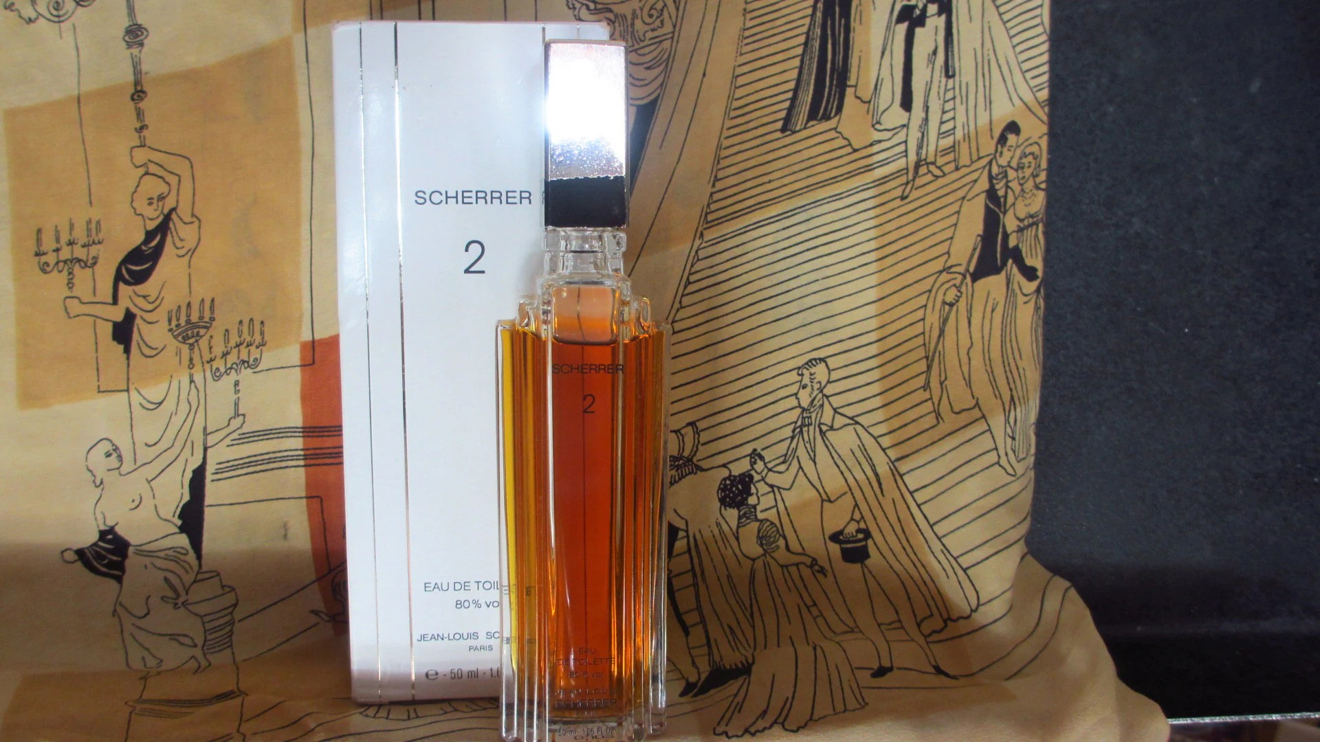 Toilette Deco Original Vintage French Perfume Scherrer 2 Eau De Toilette By Jean Louis Scherrer In Original Box Free Shipping