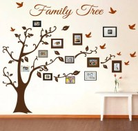 Family Tree Wall Decal Picture Frame Wall Decals Living ...