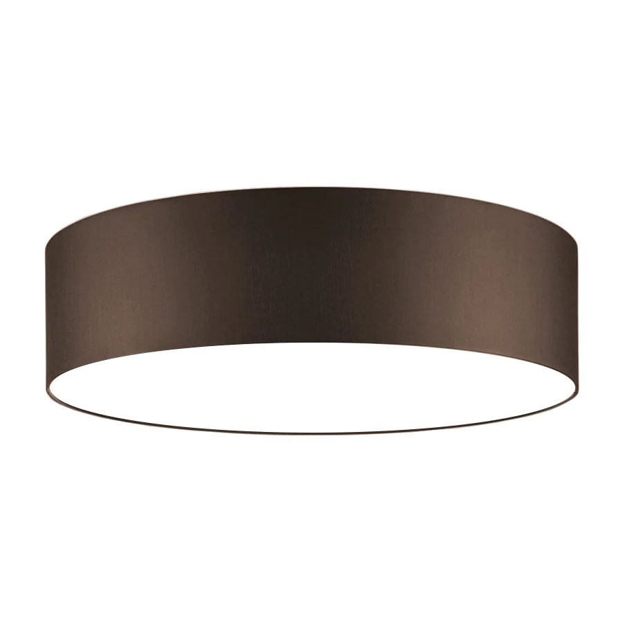 Lichthaus Worpswede Ceiling Lamp Chocolate Brown 50 Cm Diffuser
