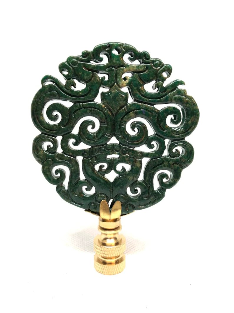 Asian Home Decor Accessories Chinoiserie Lamp Finial Asian Home Decor Lighting Accessory