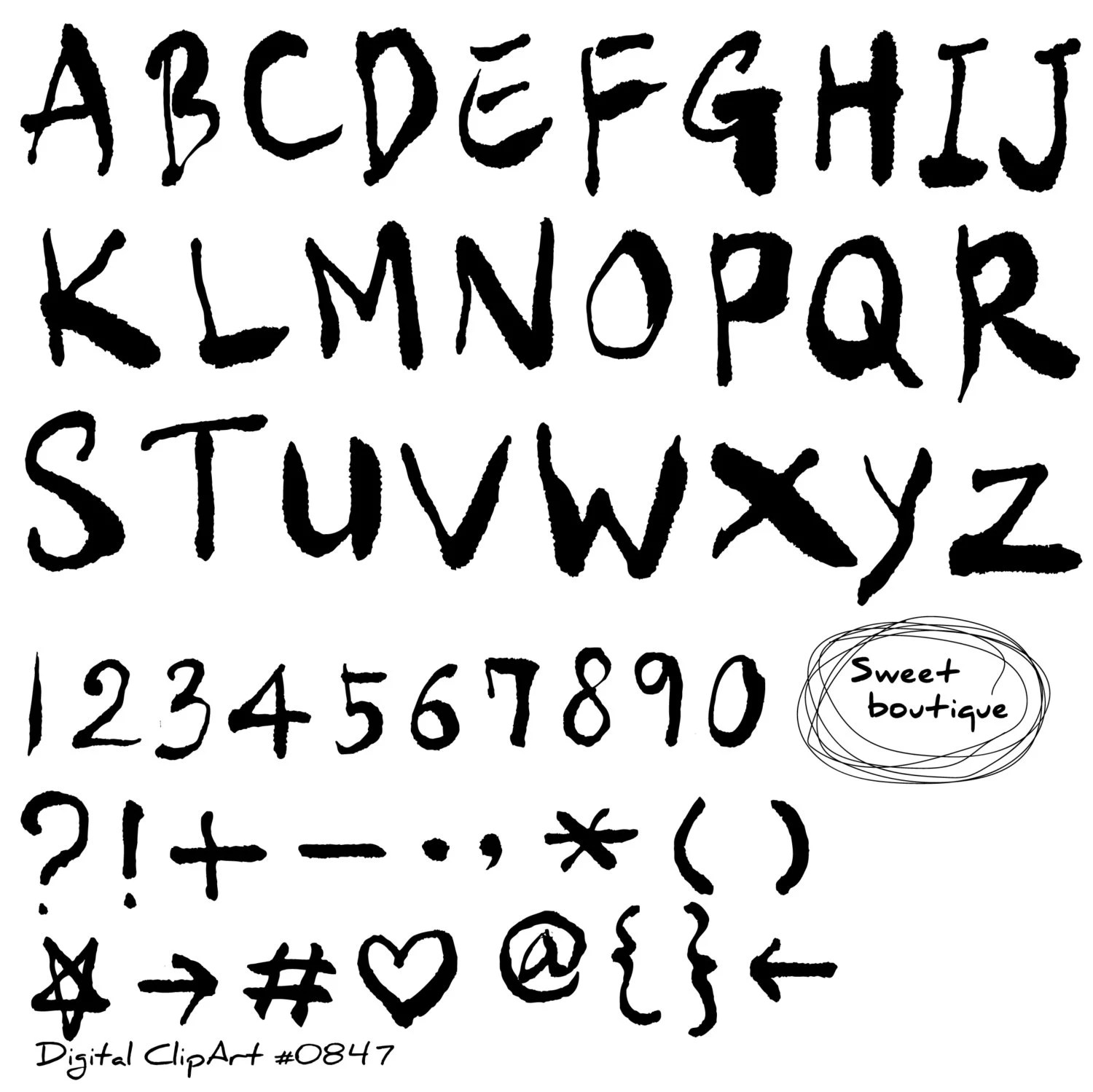 alphabet letters fonts  big printable bubble letters alphabet  tattoo font rubber stamps set