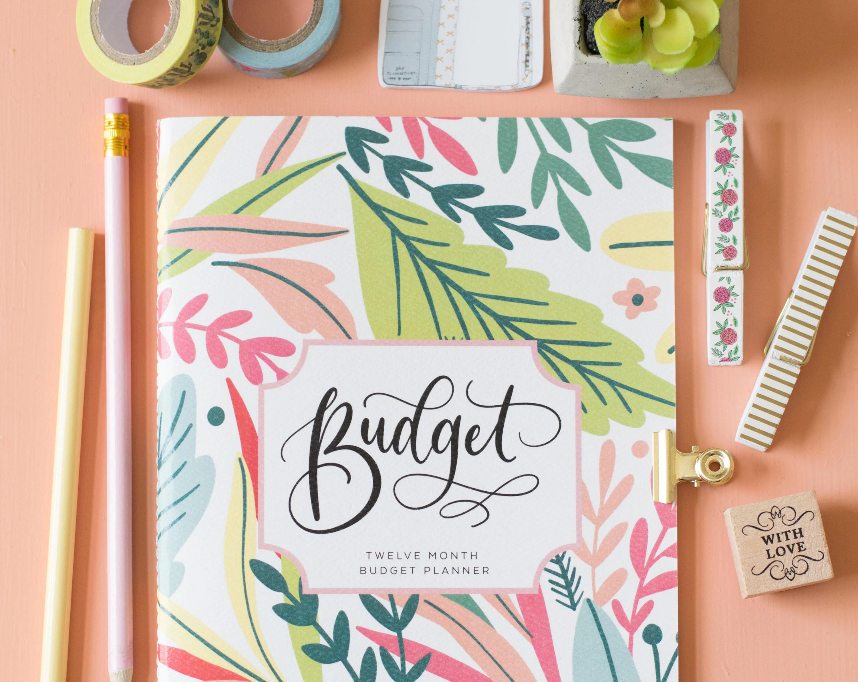 Budget planner book budget book budget planner notebook Etsy