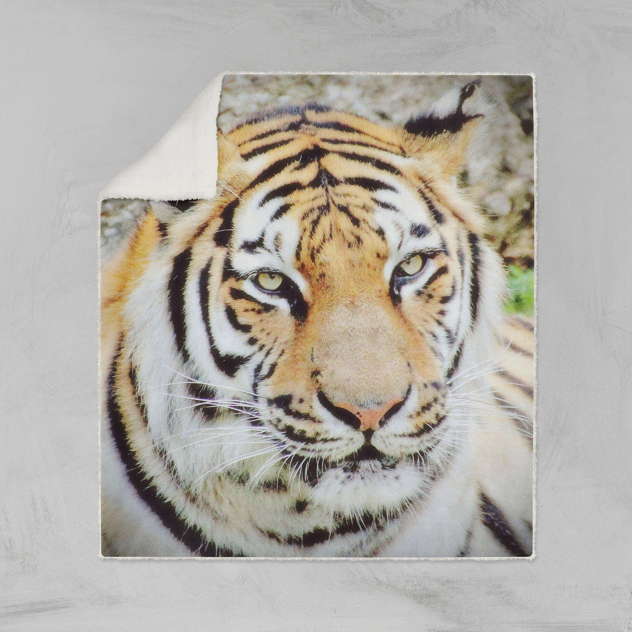 Tiger Bettwäsche Tiger Sherpa Fleece Decke Tiger Werfen Decke Fleecedecke Tiger Tiger Bettwäsche Couch Decke Sofa Decke