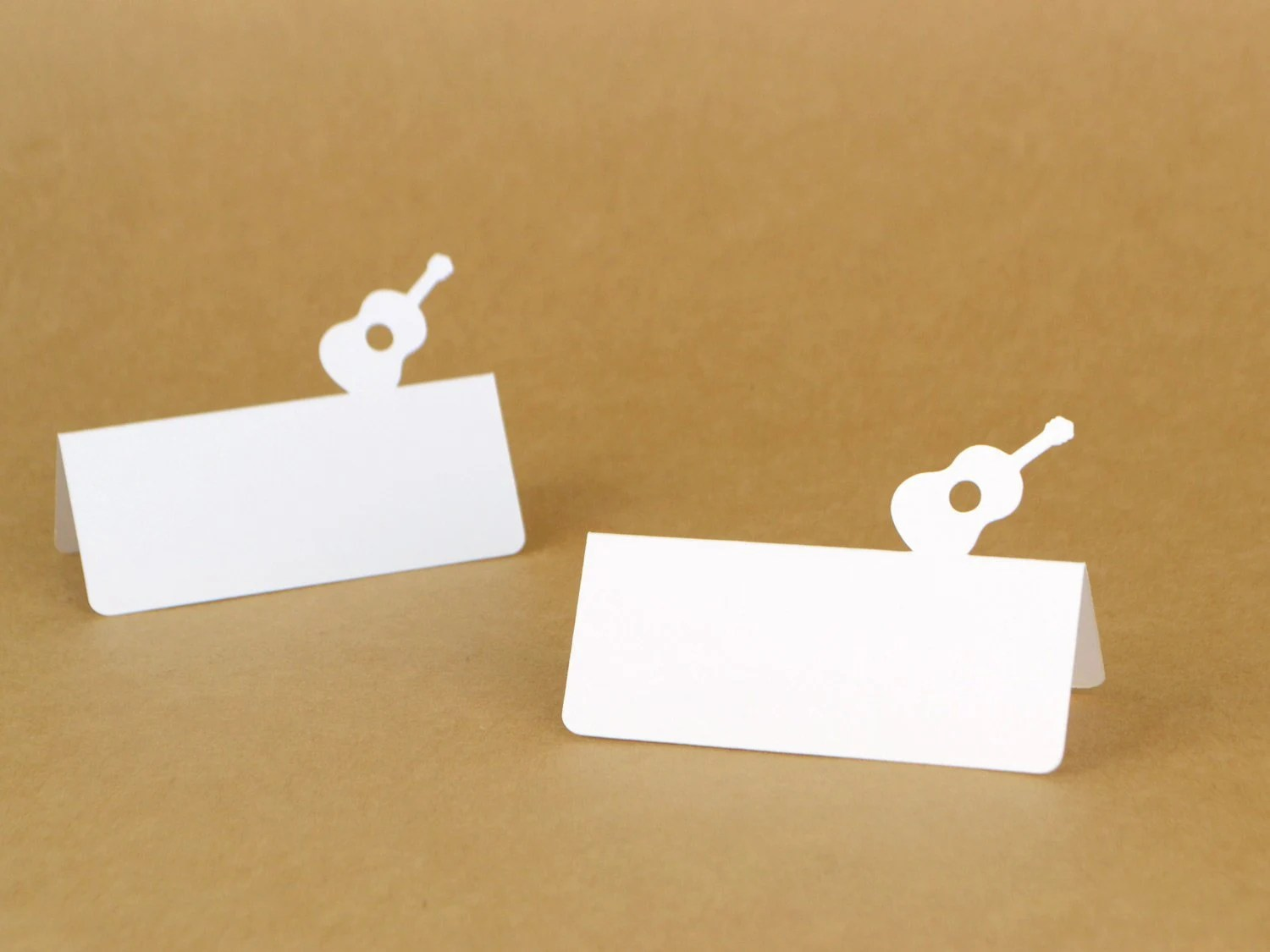 Guitar Tent Style Place Cards Set of 24 Guitar party Music Etsy