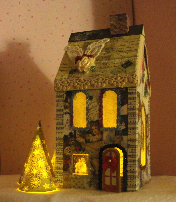 Christmas Dollhouse Doll House Special Vintage Printable Etsy