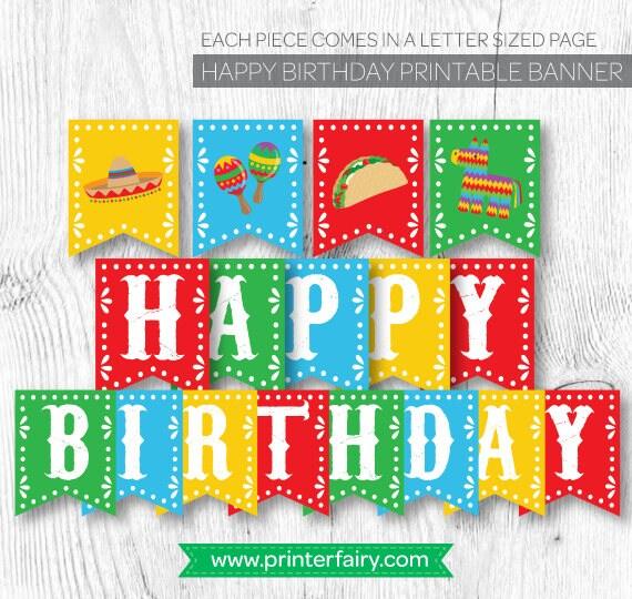 Fiesta Birthday decorations, Fiesta Banner, Fiesta First Birthday