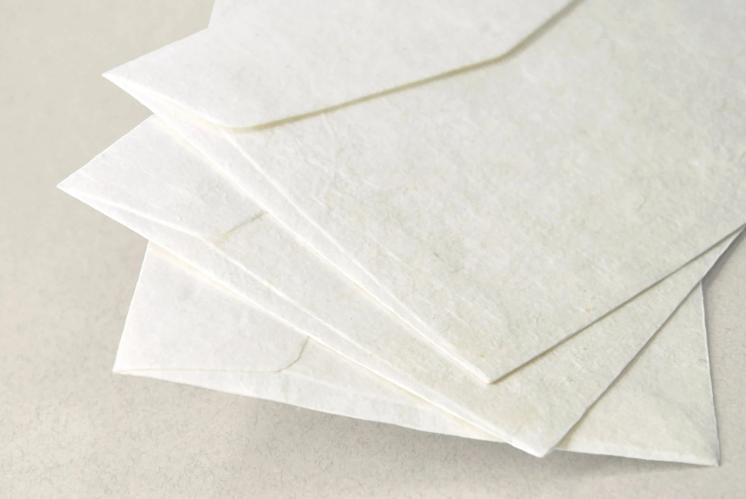 A7 5x7 inch Mulberry Paper Envelopes Off-White Set of 10 Etsy