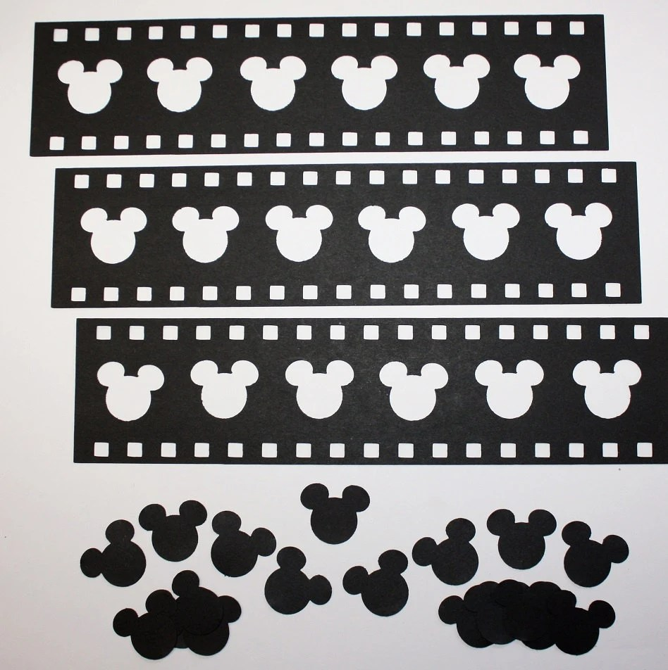 3 Mickey Mouse Film Strips/Mickey Mouse/Film Etsy