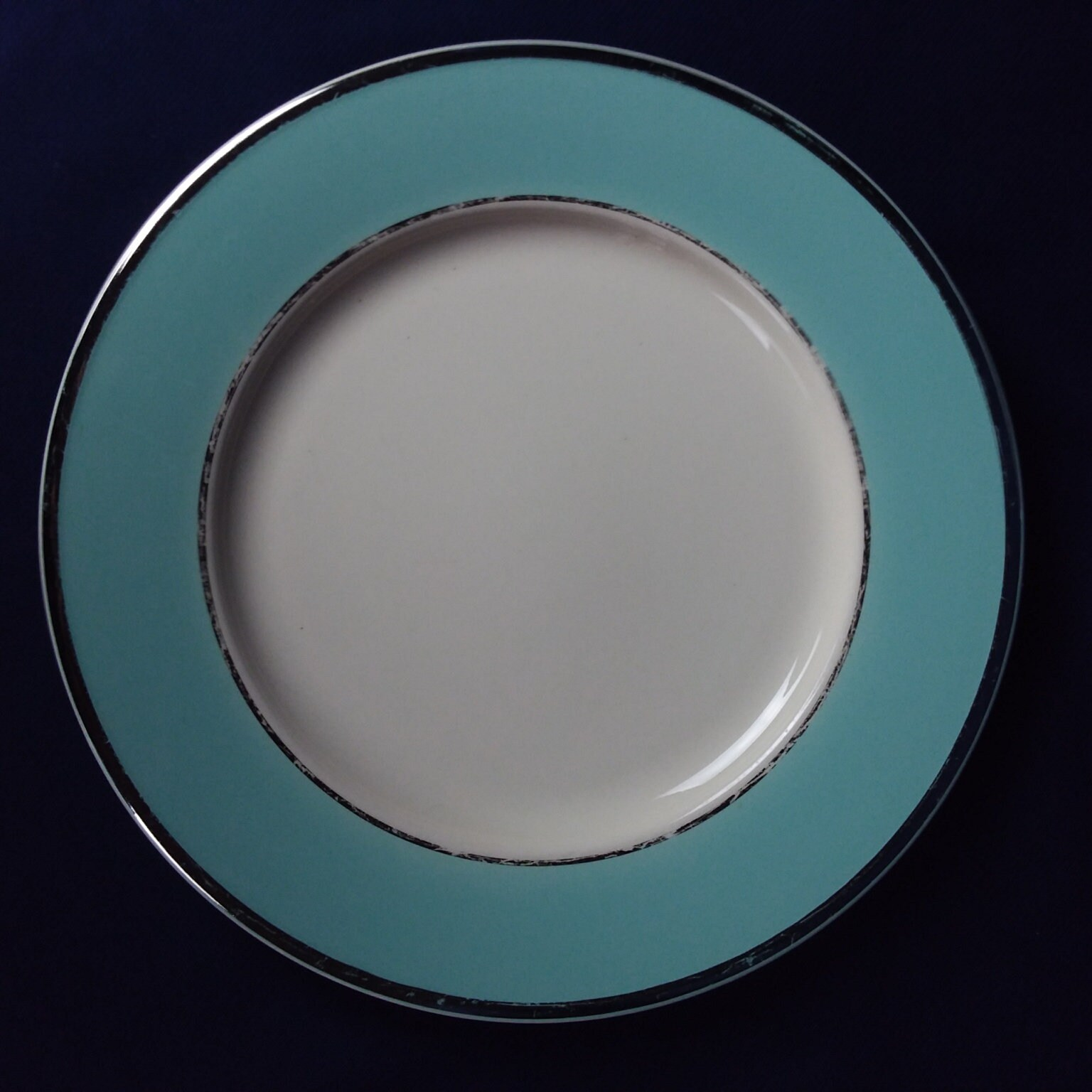 Couchtisch Colonial Taylor Smith Taylor Colonial Platinum Blue Dinner Plate 10 1 2