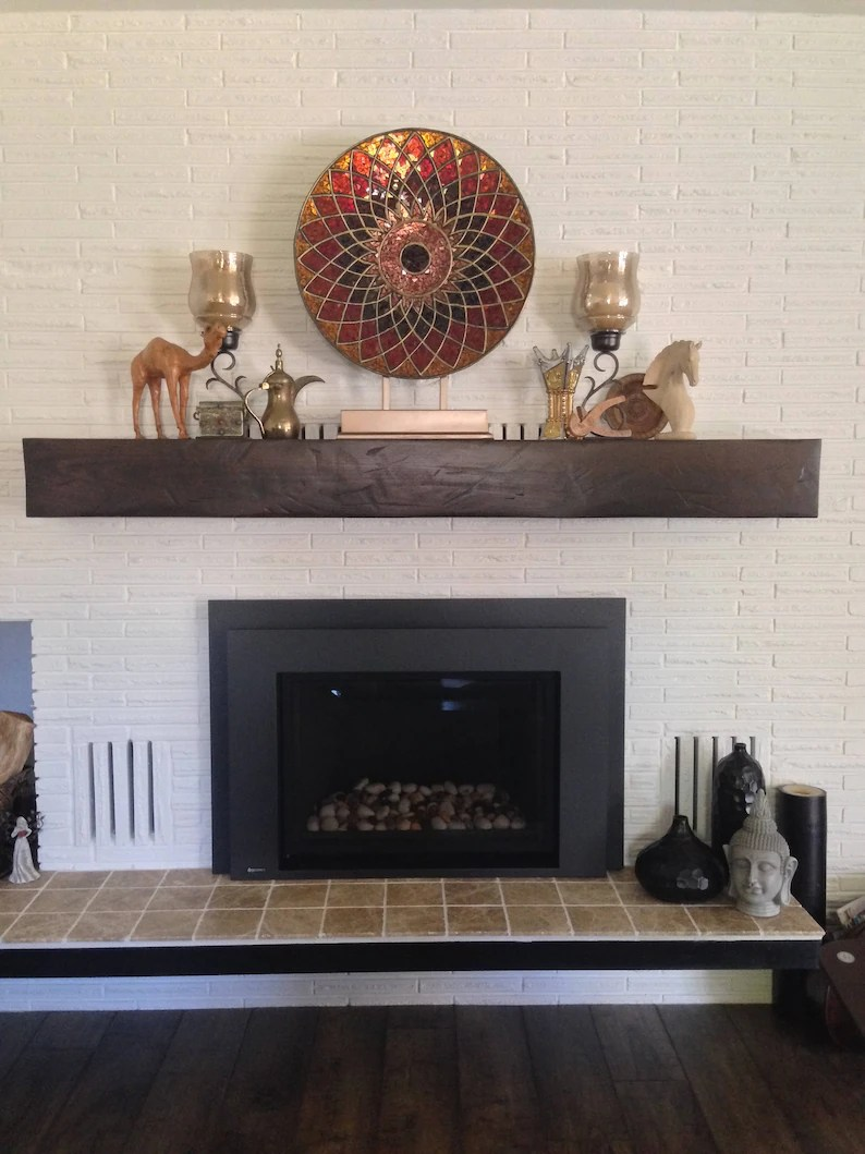 Fireplace Beam Mantel Reclaimed Rustic Style Mantel Hewn Beam Mantels Fireplace Mantle Custom Mantel