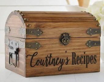 Recipe box | Etsy