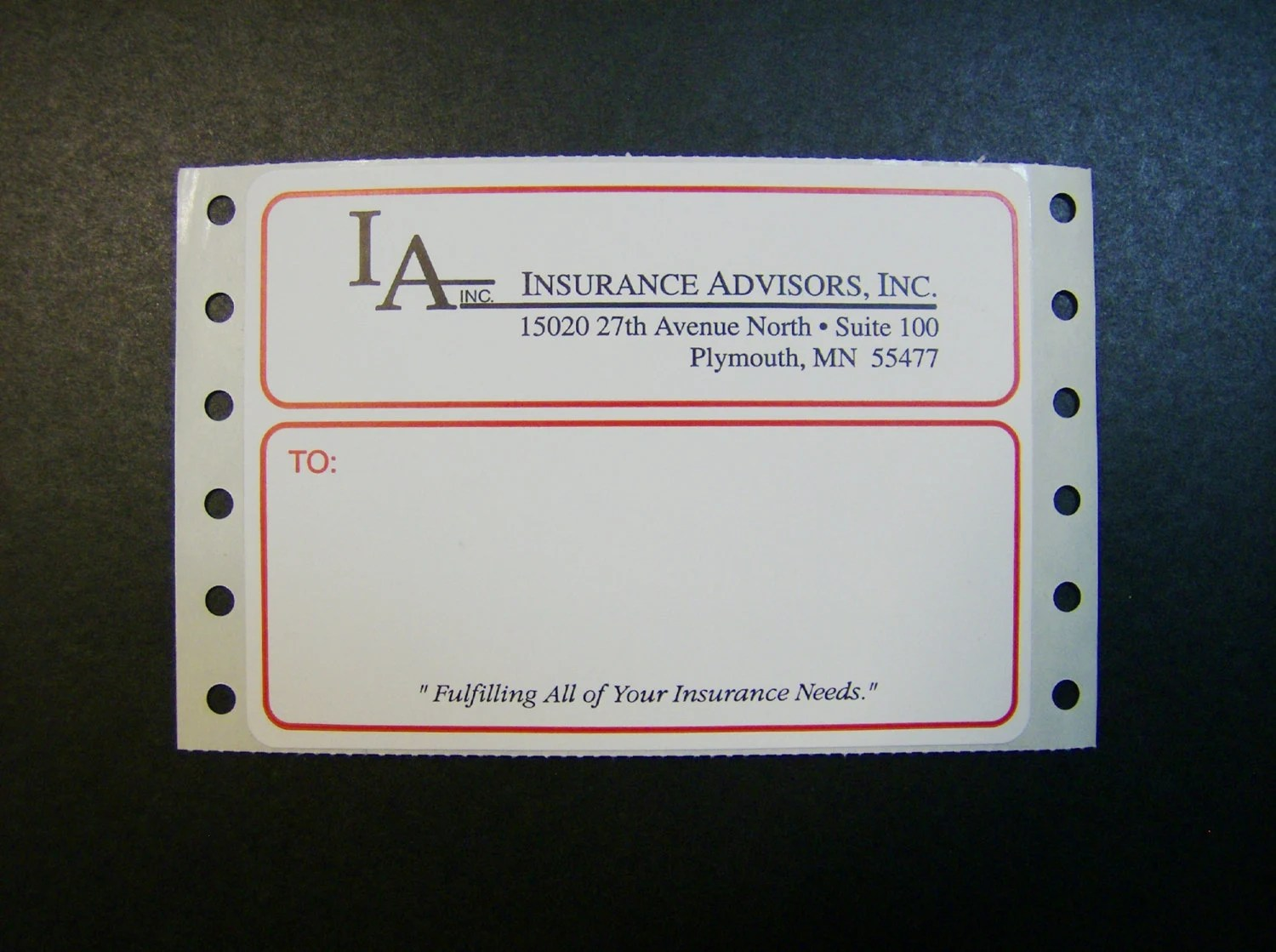 Custom Printed Mailing Labels 500 4 x 3 Business Etsy