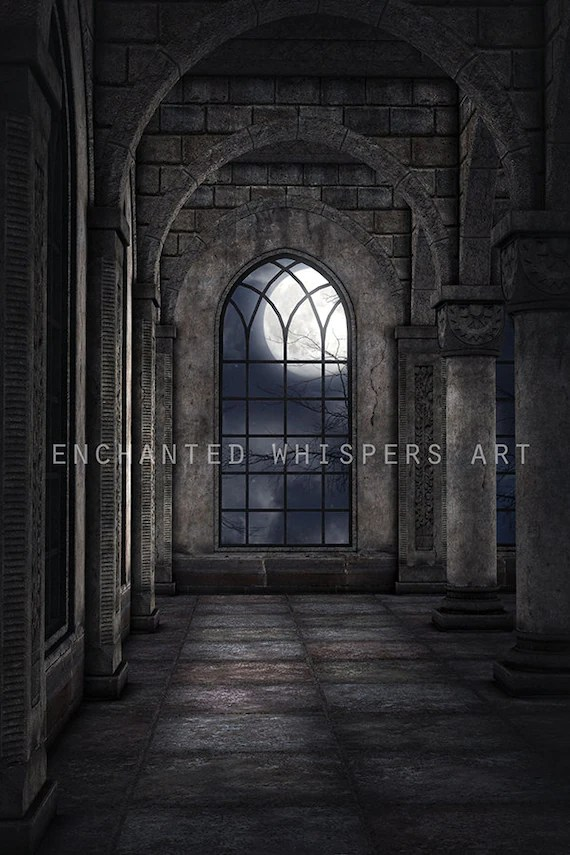 premade background castle backdrop Photoshop background Etsy - composite background