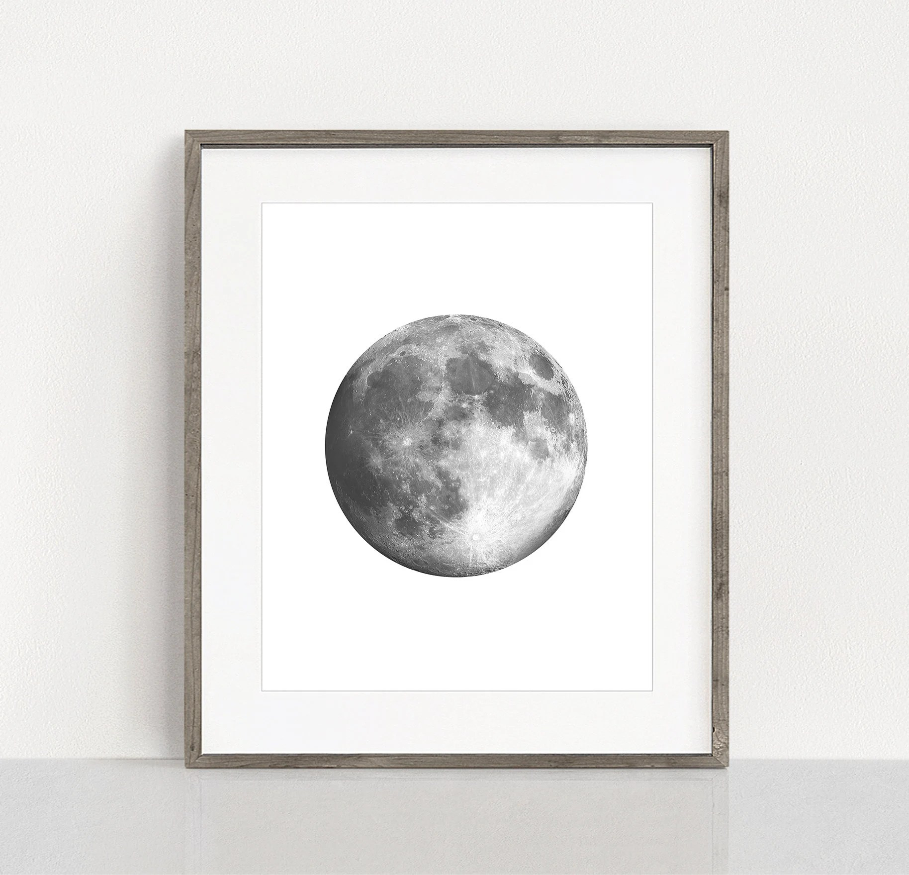 Full Moon Drawing Black And White Moon Printable La Luna Printable Full Moon Wall Art Digital Moon Poster Full Moon Poster Bedroom Printable Black And White Poster