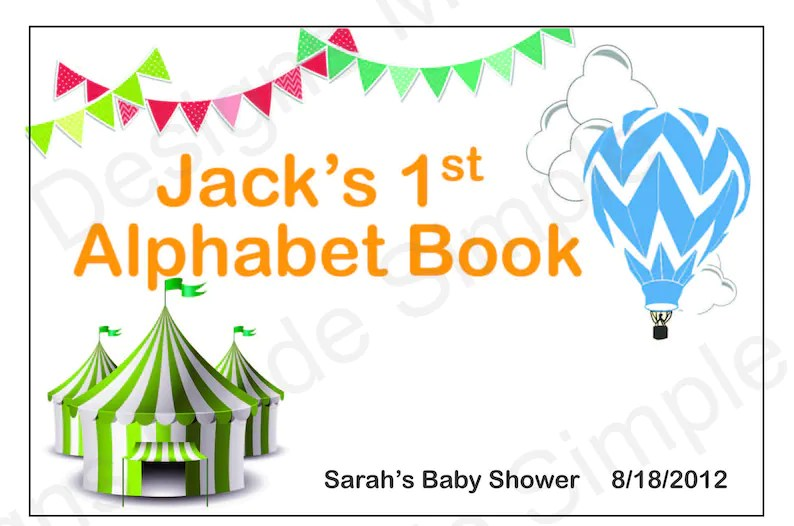 My First Alphabet Book Printable microhoo
