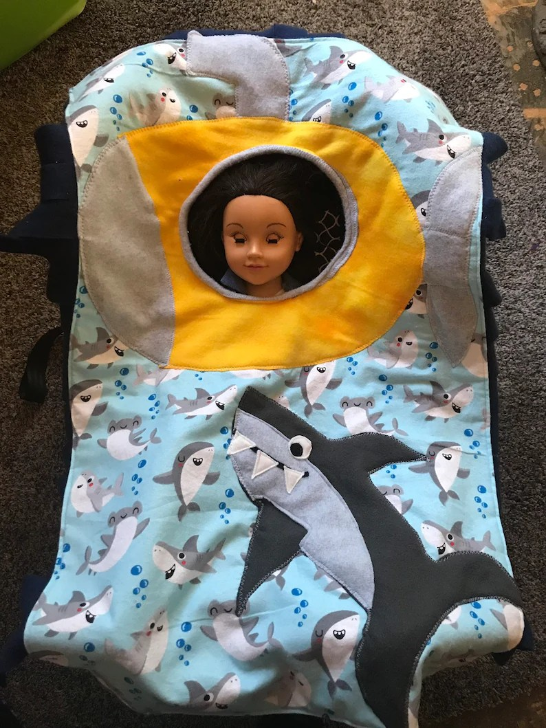 Baby Car Seat Blanket Free Pattern Free Shipping Shark And Submarine Wheelchair Blanket Car Seat Blanket Cover Poncho Baby Nursery Costume
