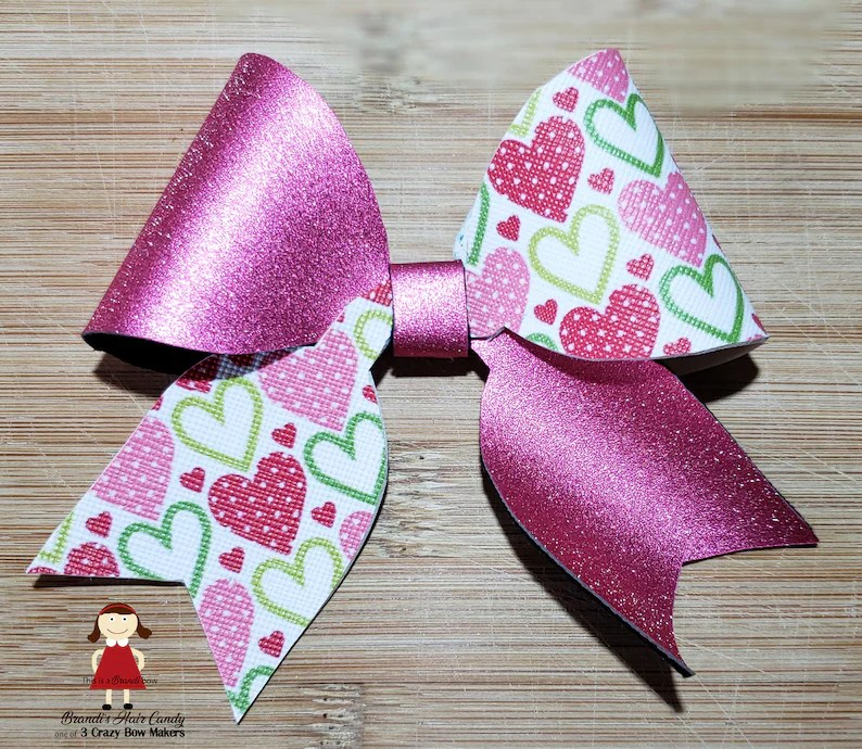 image about Cheer Bow Template Printable named Cheer Bow Template Printable