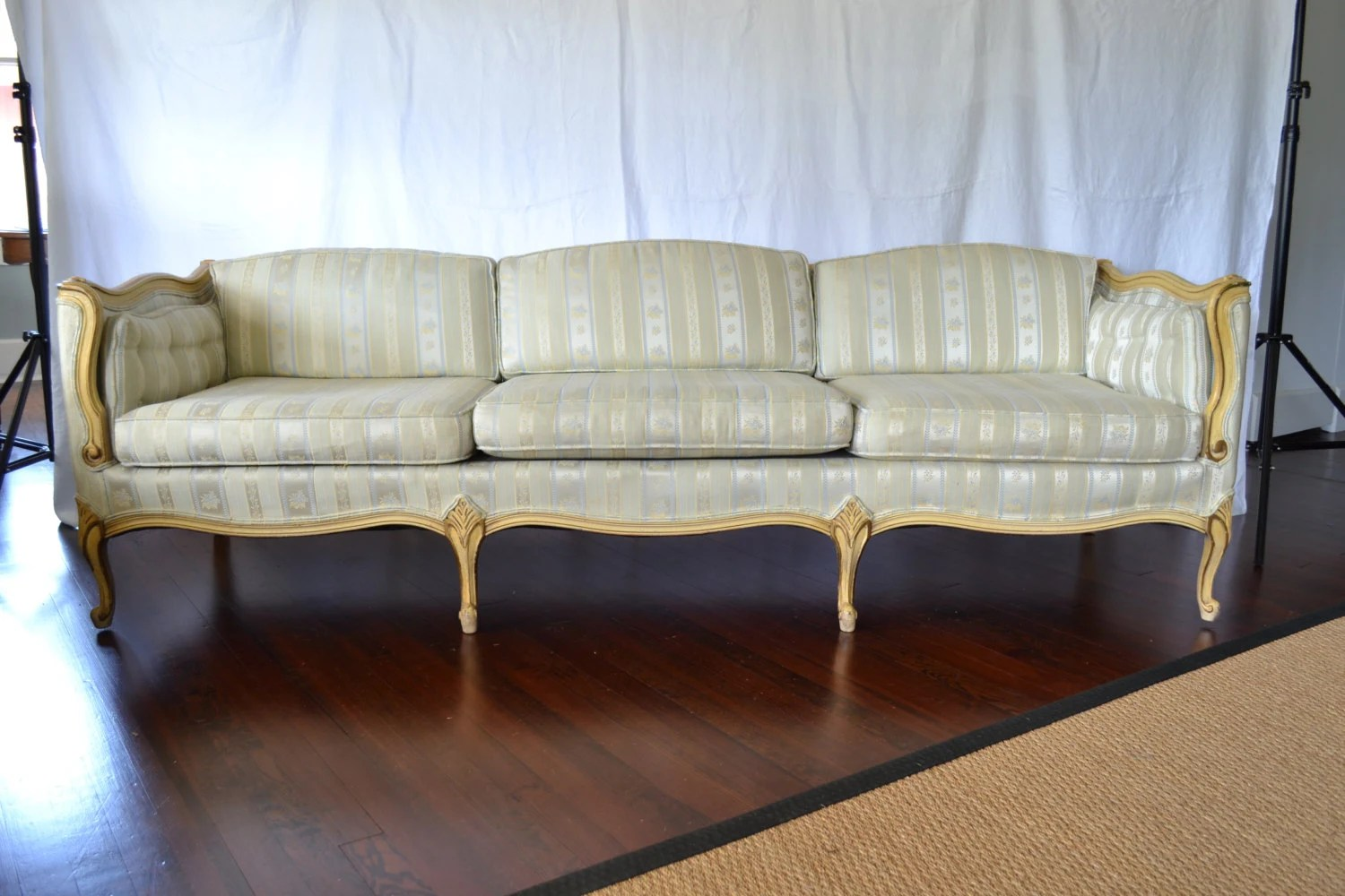 Vintage Couch Vintage French Provincial Sofa