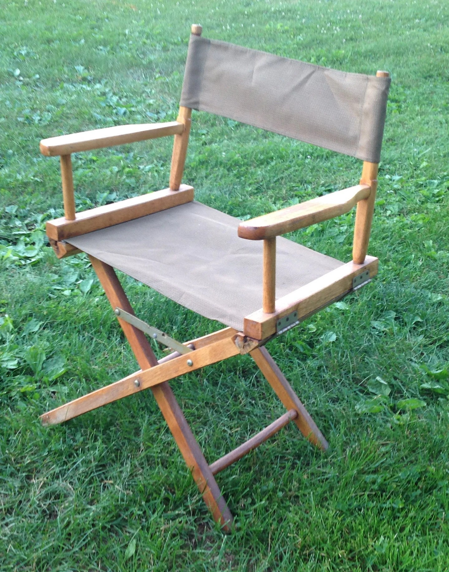 Collapsible Chair Collapsible Director S Chair Vintage Collapsible Chair Folding Chair Wood And Fabric Chair Camping Chair Camping Gear Studio Chair